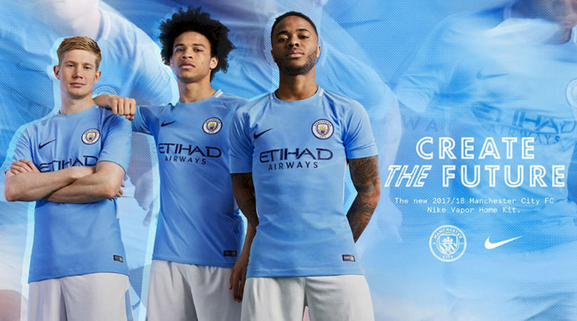 Manchester City's home kit for 2017:18