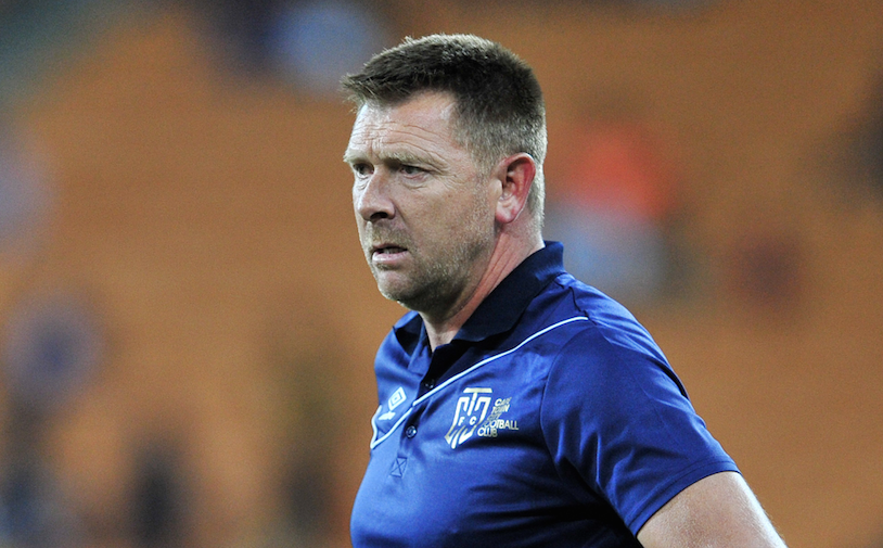 Eric Tinkler has left underdogs Cape Town City reeling