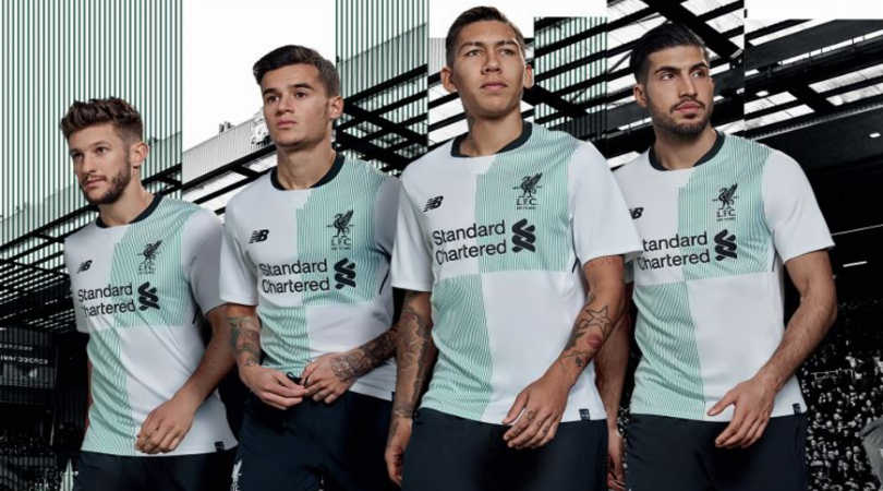 Liverpool's special edition away kit