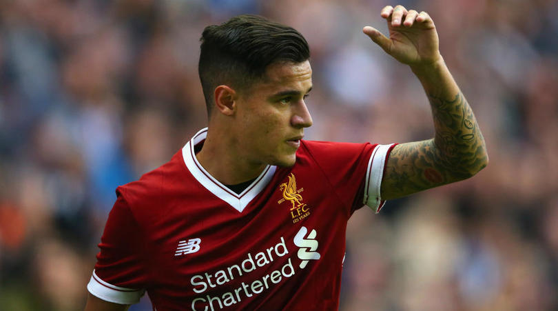 Liverpool playmaker Philippe Coutinho