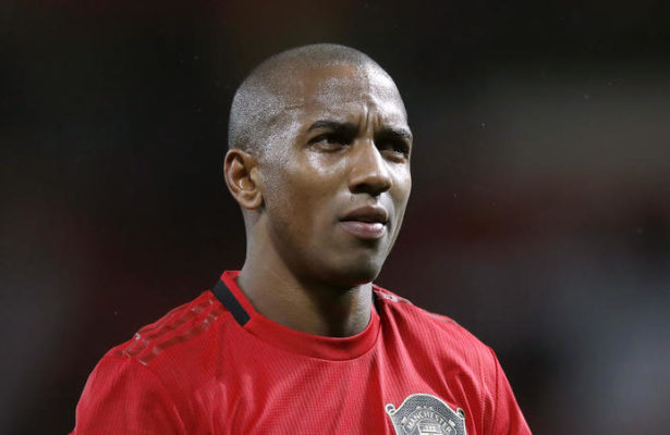 Manchester United's Ashley Young
