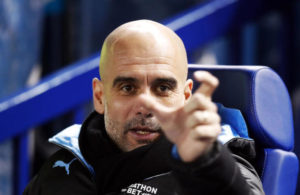 Manchester City manager Pep Guardiola before the FA Cup fifth round match at Hillsborough, Sheffield.