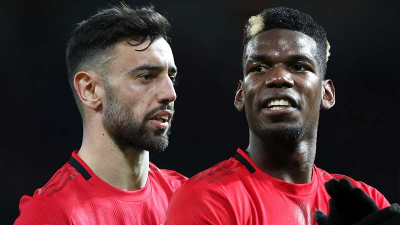 Fernandes and Pogba