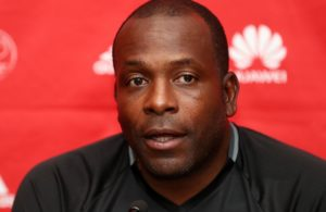 AJAX coach Stanley Menzo v Pirates