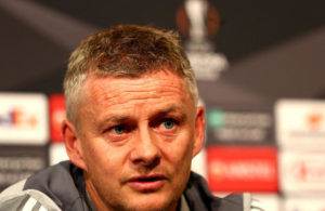 Manchester United's manager Ole Gunnar Solskjaer during the press conference at the Linzer Stadion, Linz, Austria.