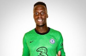 New Chelsea goalkeeper Edouard Mendy
