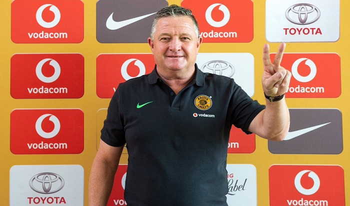 Kaizer Chiefs coach, Gavin Hunt