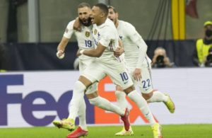 France, Mbappe and Benzema
